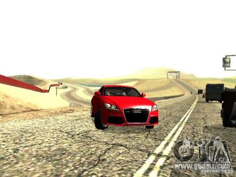 Audi TT-RS Coupe 2011 v.2.0 for GTA San Andreas right view