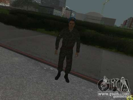 Spetsnaz VDV for GTA San Andreas fifth screenshot
