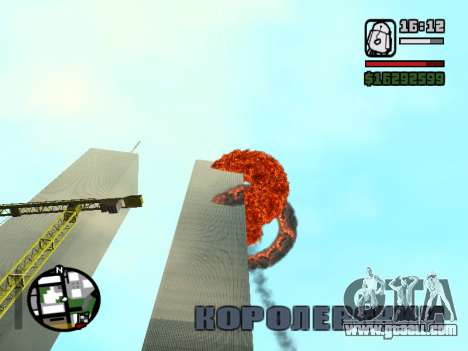 Twin towers BETA for GTA San Andreas second screenshot