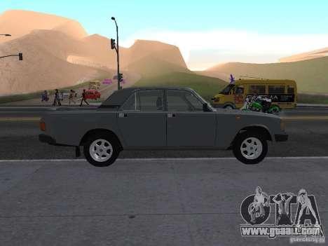 Volga GAZ 31029 for GTA San Andreas left view