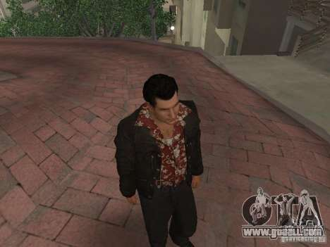 Skin Joe Barbaro of the MAFIA II v1.1 for GTA San Andreas third screenshot