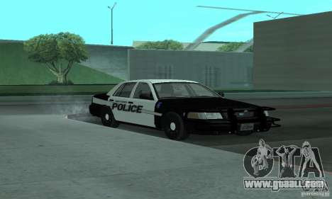 Ford Crown Victoria 2009 Slicktop for GTA San Andreas right view