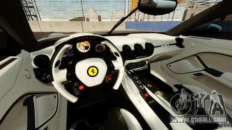 Ferrari F12 Berlinetta DCM for GTA 4 back view