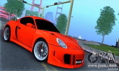 Porsche Cayman S v2 for GTA San Andreas