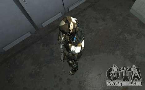 Crysis 3 The Hunter skin for GTA 4 seventh screenshot