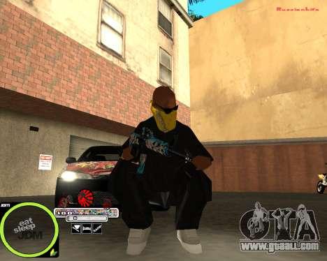 Weapon Pack by Alberto for GTA San Andreas third screenshot