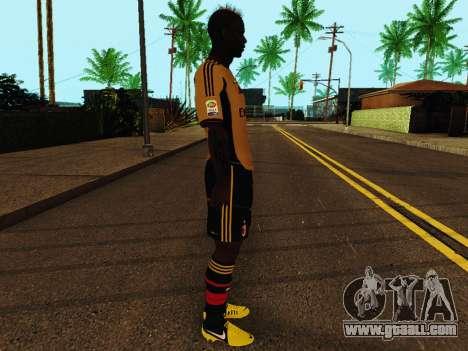 Mario Balotelli v3 for GTA San Andreas second screenshot