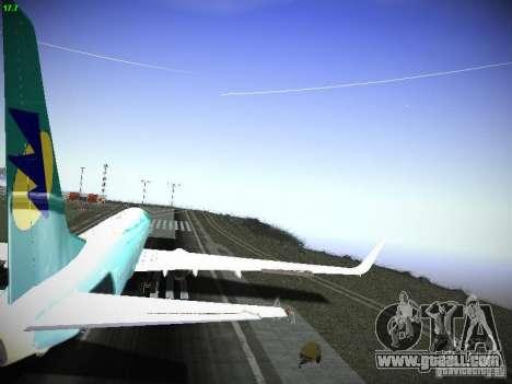 Boeing 737-84R AeroSvit Ukrainian Airlines for GTA San Andreas inner view