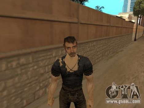 Pak skins from Gothic 1 for GTA San Andreas forth screenshot