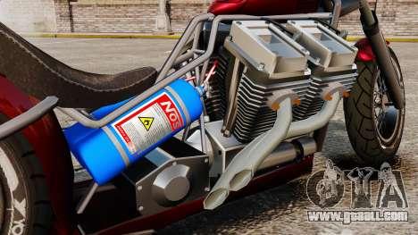 Dragbike Street Racer for GTA 4 back view