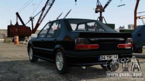 Renault 19 RL for GTA 4 left view