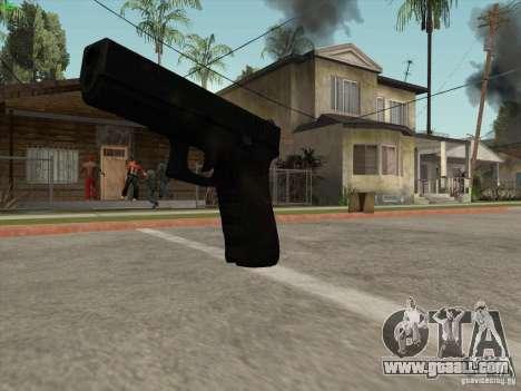 Gun G18 for GTA San Andreas forth screenshot