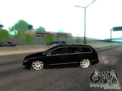 Volkswagen Passat B6 Variant Com Bentley 20 Fixa for GTA San Andreas left view