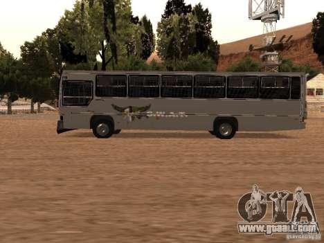 Mercedes Benz SWAT Bus for GTA San Andreas left view