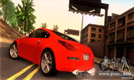 Nissan 350Z Tunable for GTA San Andreas left view