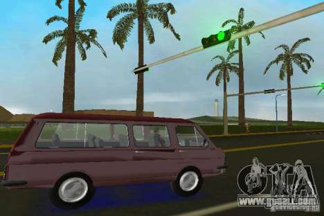 RAF 2203 for GTA Vice City right view