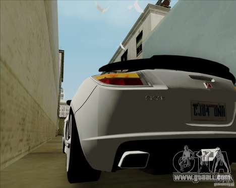 Saturn Sky Red Line 2007 v1.0 for GTA San Andreas back view