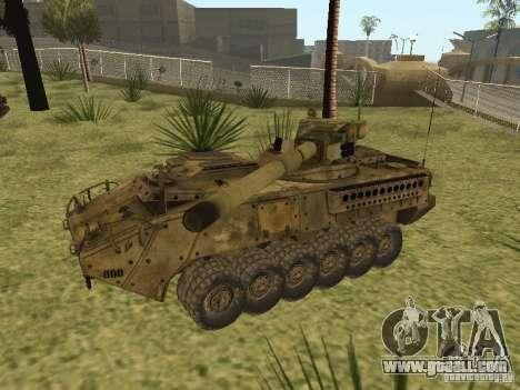 BMTV M1128 MGS for GTA San Andreas