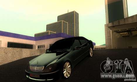 Mercedes-Benz S600 W200 for GTA San Andreas