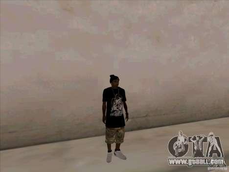 Black Guy for GTA San Andreas second screenshot