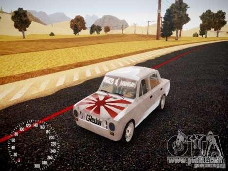 Vaz-2101 Drift Edition for GTA 4 left view