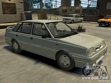 FSO Polonez Atu for GTA 4 interior