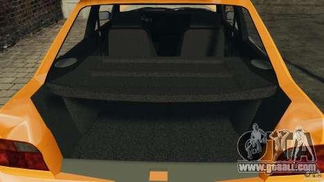 Ford Escort L 1994 Custom for GTA 4 upper view