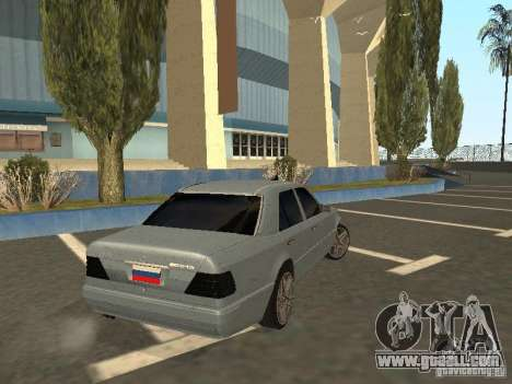 Mercedes-Benz E420 AMG for GTA San Andreas back left view