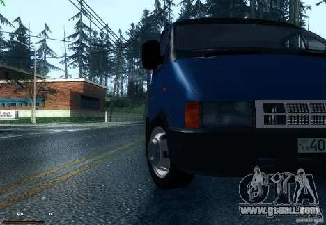 Gazelle 33021 for GTA San Andreas back left view
