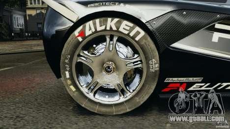 McLaren F1 ELITE Police for GTA 4 back view