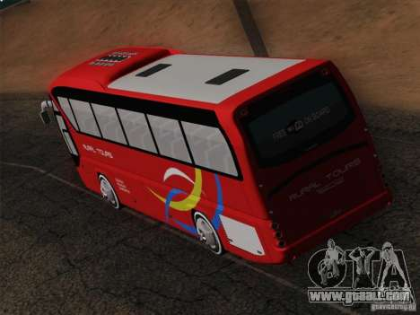 Neoplan Tourliner. Rural Tours 1502 for GTA San Andreas interior