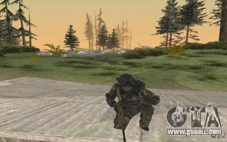 Seals soldier from BO2 for GTA San Andreas third screenshot
