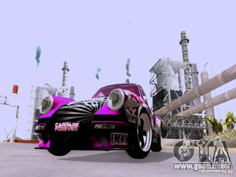 Porsche 911 Pink Power for GTA San Andreas left view