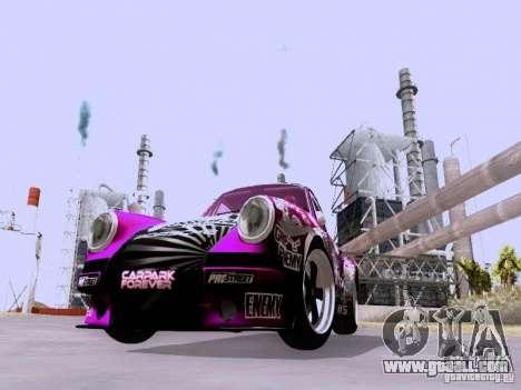 Porsche 911 Pink Power for GTA San Andreas left view