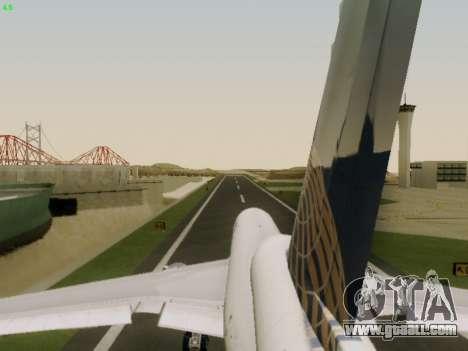 McDonell Douglas DC-10-30 Continental for GTA San Andreas upper view