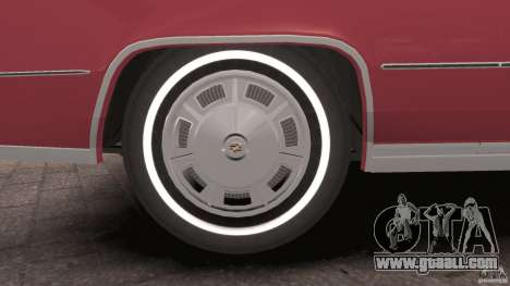 Cadillac Eldorado 1968 for GTA 4 interior