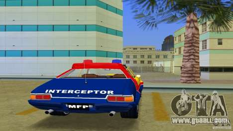 Ford Falcon 351 GT Interceptor for GTA Vice City back view