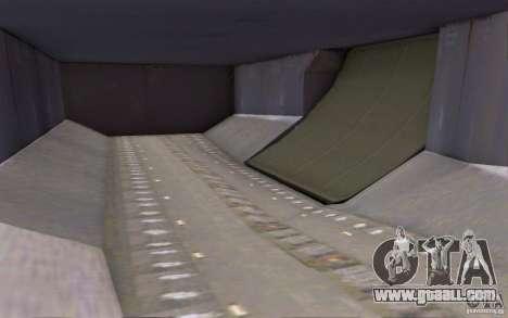Airbus A-319 Azerbaijan Airlines for GTA San Andreas inner view