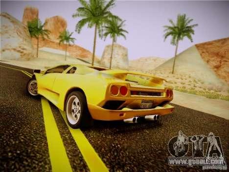Lamborghini Diablo VT 1994 for GTA San Andreas right view