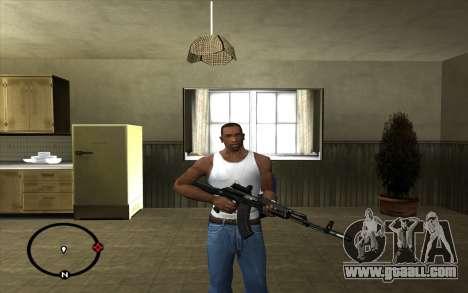AK-103 for GTA San Andreas second screenshot