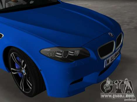 BMW M5 F10 2012 for GTA Vice City side view