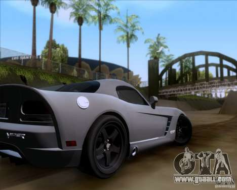 Dodge Viper SRT-10 Coupe for GTA San Andreas side view