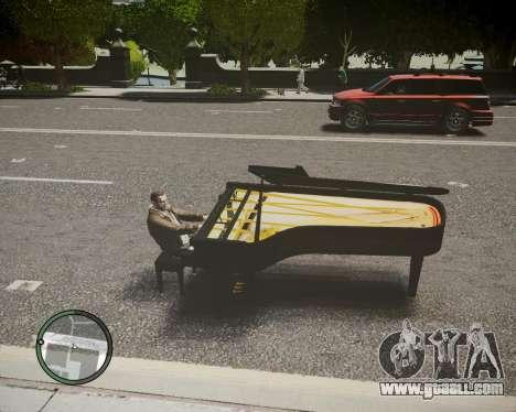 Crazy Piano for GTA 4 left view