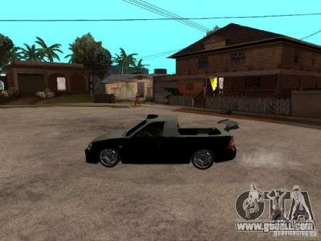 Lada Priora Pickup for GTA San Andreas left view