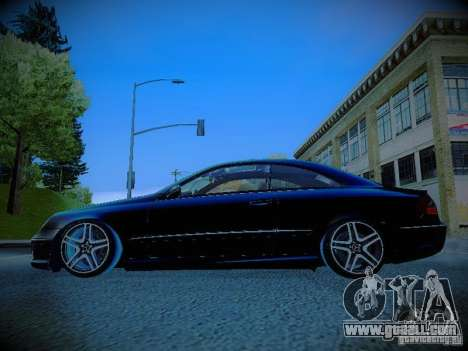 Mercedes-Benz CLK 55 AMG Coupe for GTA San Andreas left view