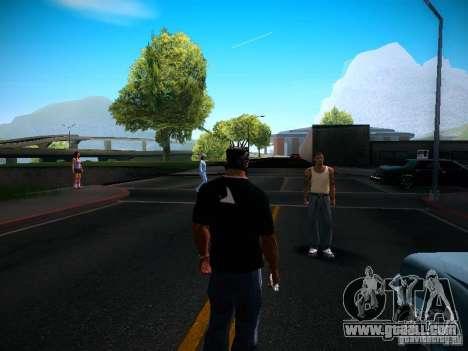 Change characters for GTA San Andreas forth screenshot