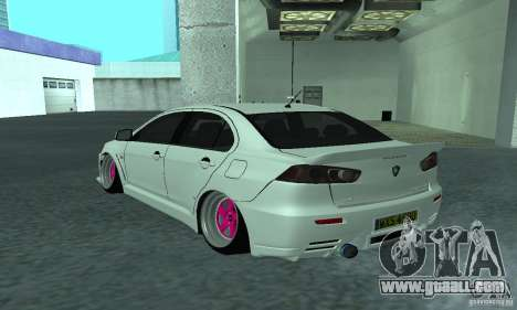 Proton Inspira Camber Edition for GTA San Andreas left view