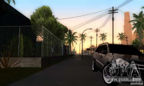 Mercedes-Benz GL 500 for GTA San Andreas right view