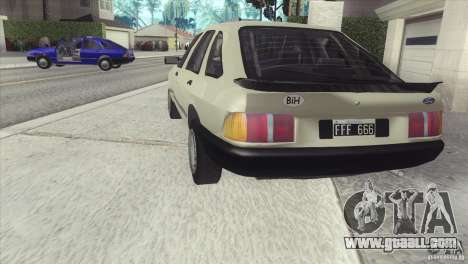 Ford Sierra for GTA San Andreas left view