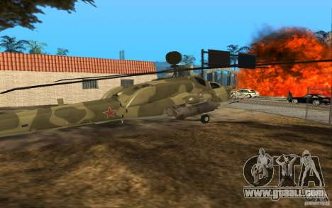 MI-28n for GTA San Andreas right view